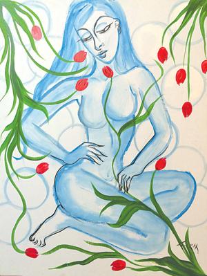 """Allura Blue"" by Toni Hudson"