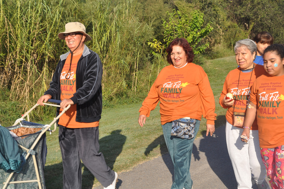 Valley residents of all ages participate in an annual Diabetes Walk sponsored by Valley Baptist Health System.