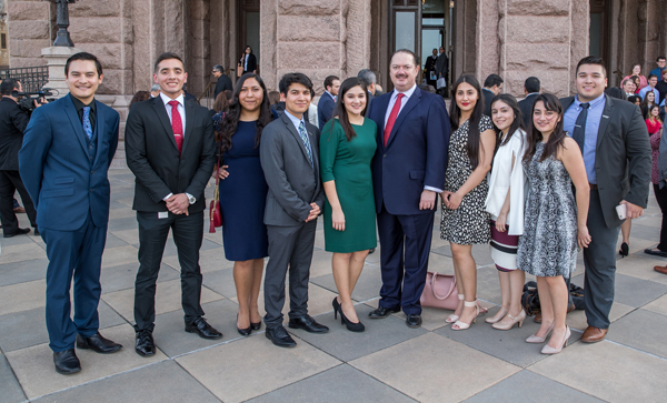Image of Eleven UTRGV Students Spend 85th Texas Legislative Session as Interns